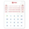 32 zonų klaviatūra Trikdis Protegus SK232LEDW